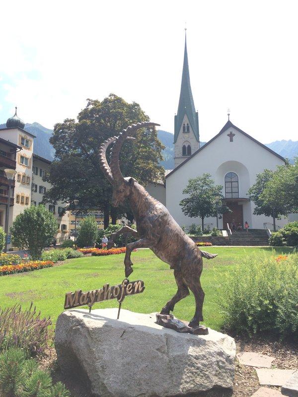 Mayrhofen stad